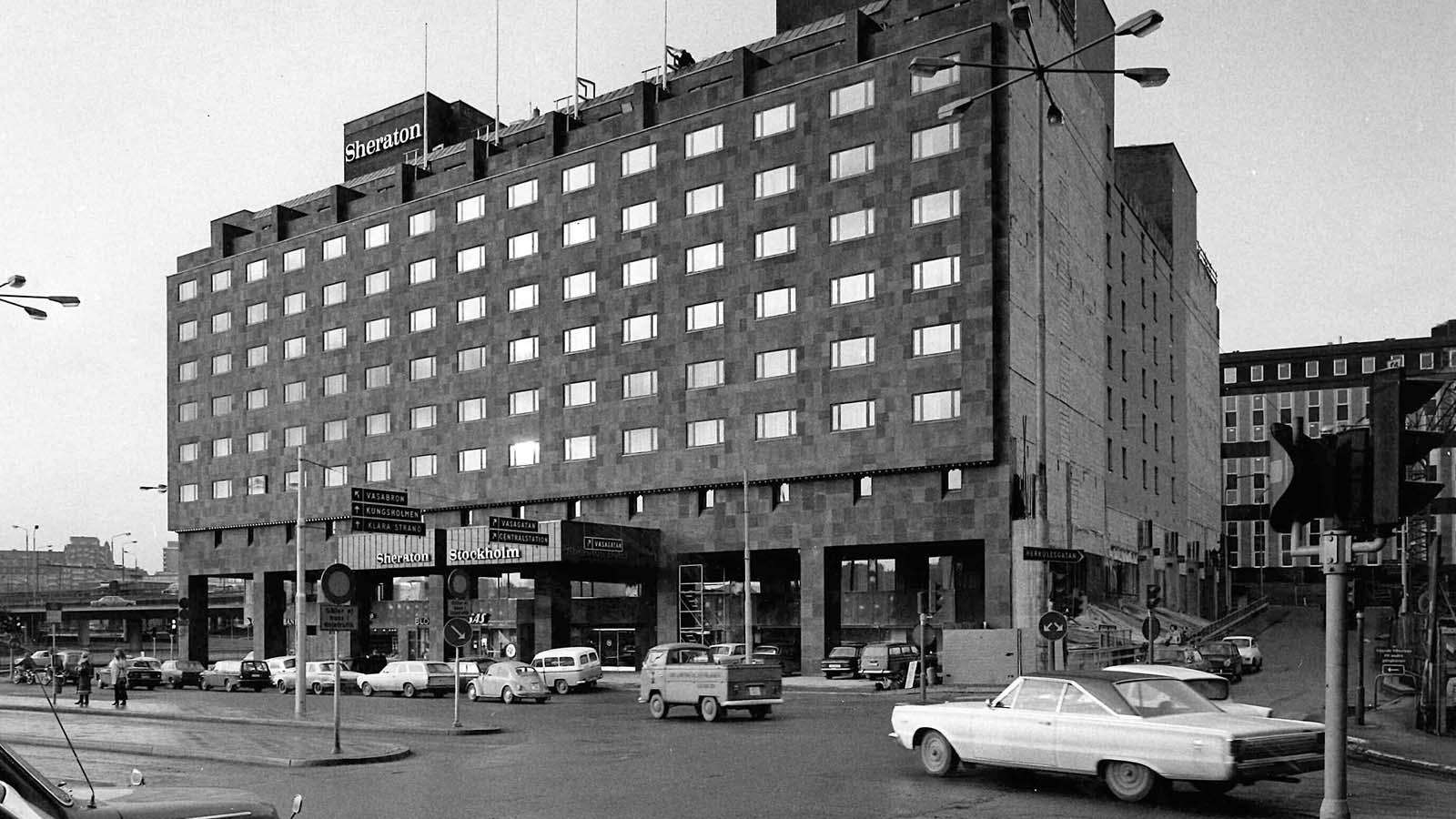 The first Sheraton Hotel in Europe